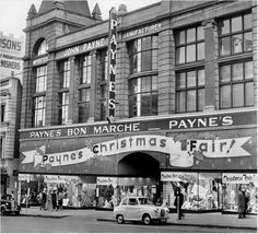Payne's Bon Marche Department Store at 138 Bourke Street, circa Demolished 1966 for brutalist former Hoyts Cinema Centre (now itself heritage listed). Australian Continent, Famous Buildings, Melbourne Victoria, Largest Countries, Amazing Pics, Brutalist, Old City, Tasmania, Historic Homes