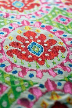 Manuel Canovas 2013 Bella in Rose Indien. Manuel Canovas fabrics available through Jane Hall Design
