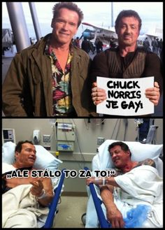 Great Memes, Good Jokes, Funny Jokes, Funny Images, Funny Pictures, Funny Greek, Chuck Norris, Arnold Schwarzenegger, Jokes Quotes