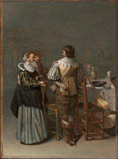 1630-1633 Jacob Duck - A Merry Company