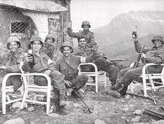 7th Infantry Regiment US, Berchtesgaden, 1945. 3rd Infantry Division