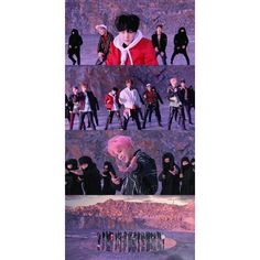 bts-not-today-wallpapers ❤ liked on Polyvore featuring bts
