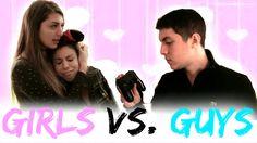 Valentines Day Guys Vs. Girls!