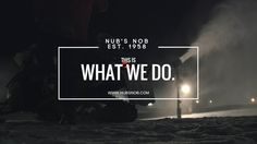 Nub's Nob - Night Snowmaking - This Is What We Do. Website by Abuzz Creative