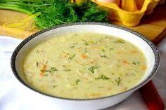 zupa drobiowa z ryżem Soup Recipes, Diet Recipes, Dessert Recipes, Cooking Recipes, Garlic Roasted Potatoes, Polish Recipes, Polish Food, Potato Soup, Cakes And More