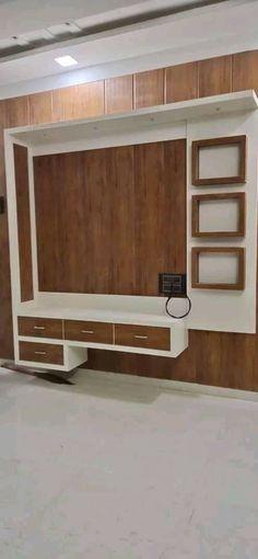 #woodworkingidea Lcd Units, Wall Units, Tv Unit, Drawing Room, Sony, Home Improvement, Room Decor, Interiors, Storage