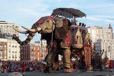 Installationen af måneden: Melpomen hold Royal De Luxe med Diwel Marionette Puppet, Puppets, Jules Verne, Puppetry Theatre, Theater, London Theatre, Le Havre, Art For Art Sake, Realism Art