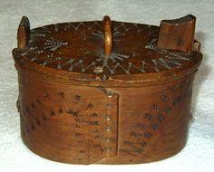 Norwegian & Swedish Tines , Svepasks, Bentwood Boxes (Wedding Boxes)