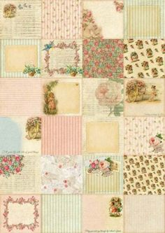 TNCo-patterned-paper-vintage-attic-paper-shabby-paper-pack-almost-6x6-paper