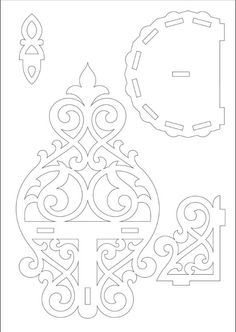scroll saw projects patterns Small Wood Projects, Cnc Projects, Easy Craft Projects, Cardboard Crafts, Wooden Crafts, Paper Crafts, Scroll Saw Patterns, Wood Patterns, Stencil Templates