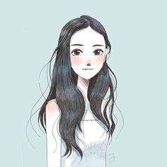 Little Oil,illustration,art,drawings,cute girl