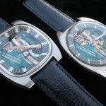 When Accutron 214 based watches were first released in they were truly ground breaking. Bulova Accutron, Electric, Watches, Leather, Accessories, Wrist Watches, Tag Watches, Clocks