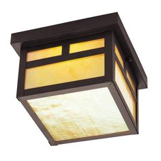 Montclair Mission Bronze One-Light Outdoor Fixture