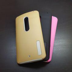 Motorola Moto X Play - Slim Sleek Dual-Layered Case - 6.75$