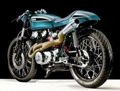 "1973 Honda CL450 ""Pony boy"" by Hanger Cycleworks | Inazuma Cafe Racer"