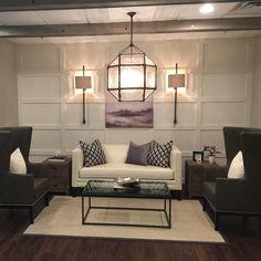 Beautiful dental office waiting room interior design