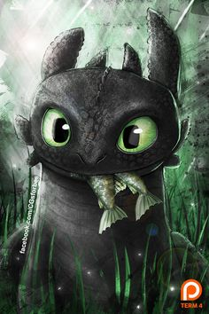 Toothless Fanart (Term 4 reward) by Ruby--Art on DeviantArt