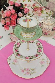 cake stand diy teacup - Google-søk
