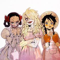 Whys Luffy so cute