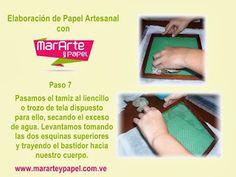Elaboracion de Papel Artesanal Paso 7