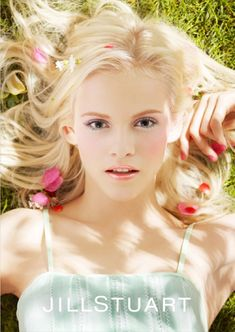 jill stuart, playful summer, spring/summer 2012, cosmetic collection, ad campaign, ginta lapina