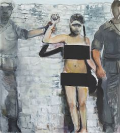 "Dumas Marlene ""The Trophy"" 200,0 x 180,0 cm oil on canvas 2013"