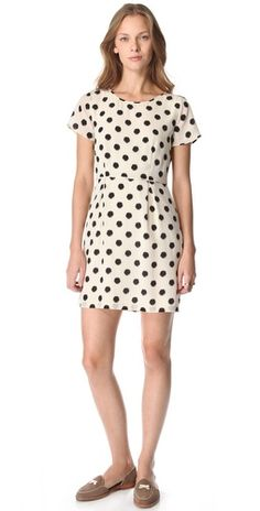 Madewell Polka Dot Dress- perfect all year long!