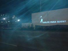Ocupa Golfe, Coletivo Projetação. Protesto contra o Campo de Golfe Olímpico Rio 2016