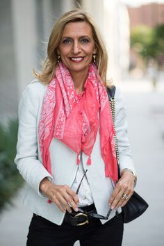 Our Coral and Ivory Print Scarf with Tassels featured on my blog this weekend is a perfect scarf for spring and it is 15% OFF WITH CODE FS49 PLUS FREE US SHIPPING www.jacketsociety.com