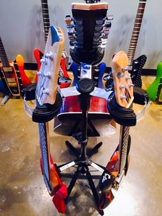 the D&A Guitar Gear HYDRA!!! Most technologically advanced stand on the planet!! LIFETIME GUARANTEE.