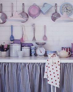 cocina : Delicada y Romántica Cocina