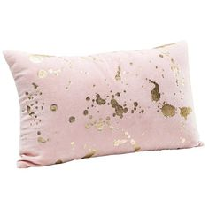 Splash of Gold Cushion - The French Bedroom Company