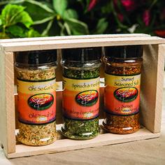 Spice It Up $31.99  Oh! So Garlic Spinach & Herb Mix Sunset Seasoned Salt