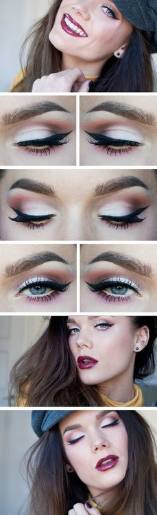 ♥ Linda Hallberg - incredible makeup artist. Very inspiring -- from her daily makeup blog. | Inspiration for an upcoming project by Adagio Images at www.adagio-images... or www.facebook.com/... | #makeup #makeupinspiration