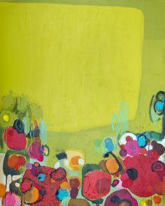"Saatchi Art Artist: Claire Desjardins; Acrylic 2013 Painting ""Later Today"""