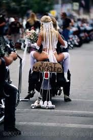 hey maybe this will inspire another wedding at this years bikers reunion???