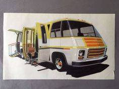 Classic Gmc, Gmc Motorhome, Vintage Rv, Rv Accessories, Tiny House Design, Garage, Concept Cars, Camper, Trailers
