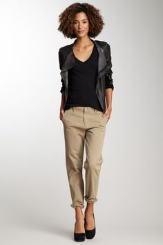 Tokyo Mid Rise Slouch Leg Pant