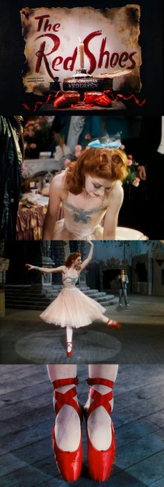 THE RED SHOES, 1948, a production of the Archers: Michael Powell and Emeric Pressburger and arguably the greatest film ever made, certainly in my top five and probably the one I enjoy more than any. http://pinterest.com/earthgroove2/pins/