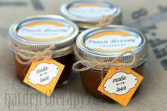 Peach Brandy Preserves Recipe