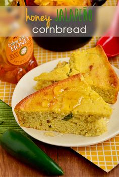 Honey Jalapeno Cornbread via Iowa Girl Eats. And you can control the jalapeños!  This sounds fabulous.