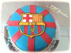 #TMJcreative #birthdaycake #fcbarcelona #szülinapitorta #torta