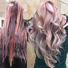 Likes, 47 Comments - Hairbesties Community ( on Instagr. Likes, 47 Kommentare - Hairbesties . Hair Color And Cut, Cool Hair Color, Hair Colors, Purple Hair, Ombre Hair, Wavy Hair, Underlights Hair, Pinterest Hair, Cool Hairstyles