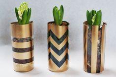 DIY Vase bouteille de vin et bougeoir confiture!
