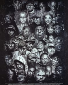Rap Gods POSTER hip-hop Eminem Biggie Nelly Jay-z 2pac Mini Poster at AllPosters.com