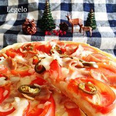 トマトピザ レシピ