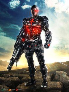 Justice League: Cyborg (update) #justiceleague #cyborg #rayfisher #dccomics