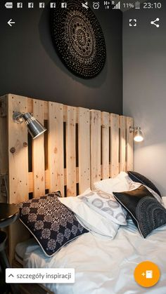 Boys headboards with lights