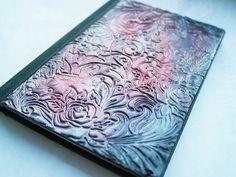 Polymer Clay Journal / Tagebuch bronze / Silber von ItsDesignsByJo