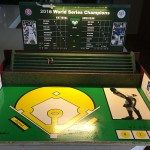 Wrigley inspired Strat baseball playing surface with lights!
